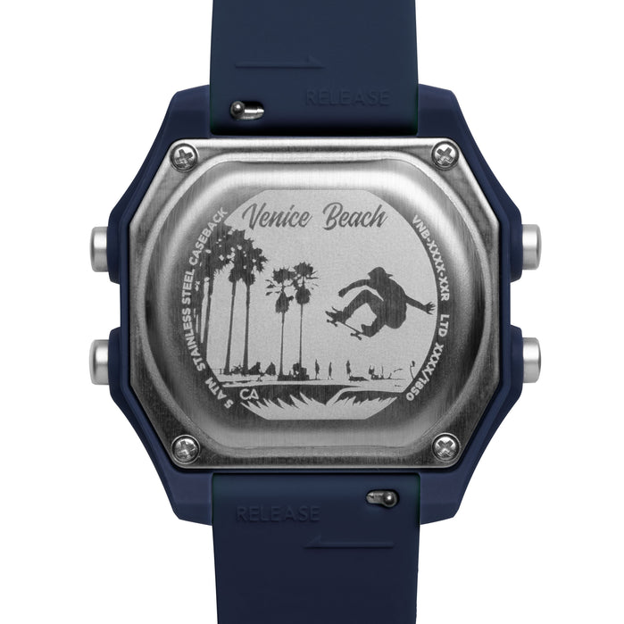 California Watch Co. Venice Beach Digital Navy angled shot picture