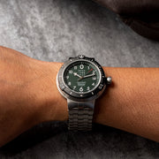 CCCP Kashalot Submarine Automatic Silver Green SS