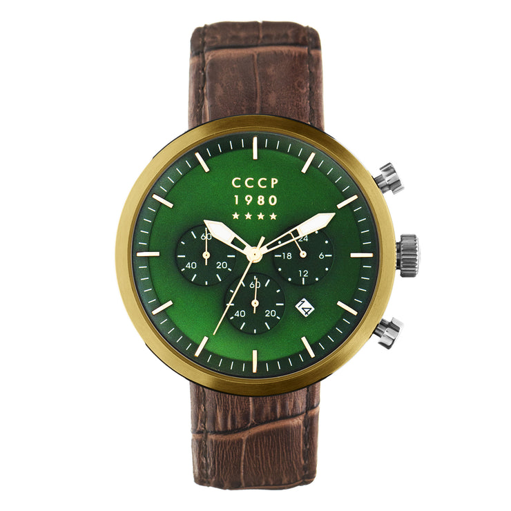 CCCP Kashalot Dress Gold Green