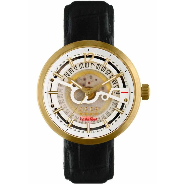 CCCP Kashalot Dress Automatic Gold Black