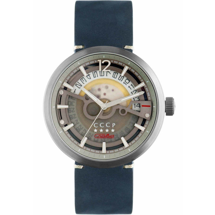 CCCP Kashalot Dress Automatic Silver Blue