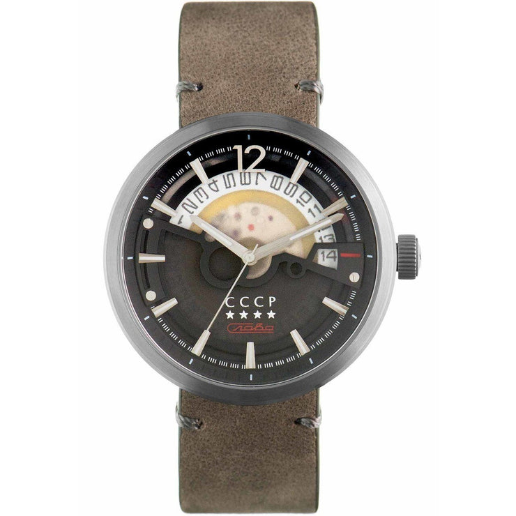 CCCP Kashalot Dress Automatic Silver Grey