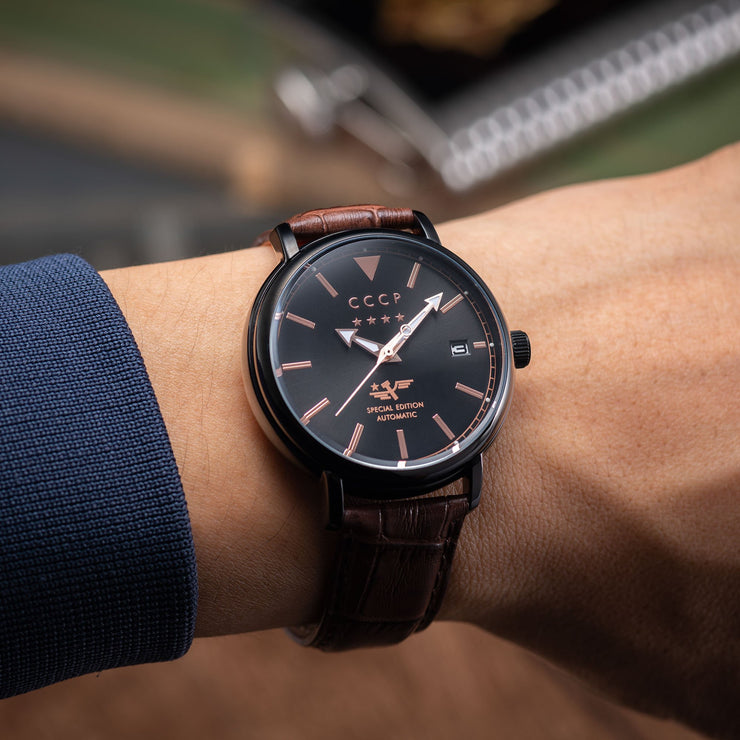 CCCP Heritage Automatic Black Brown
