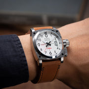 CCCP Gurevich Automatic Silver Brown
