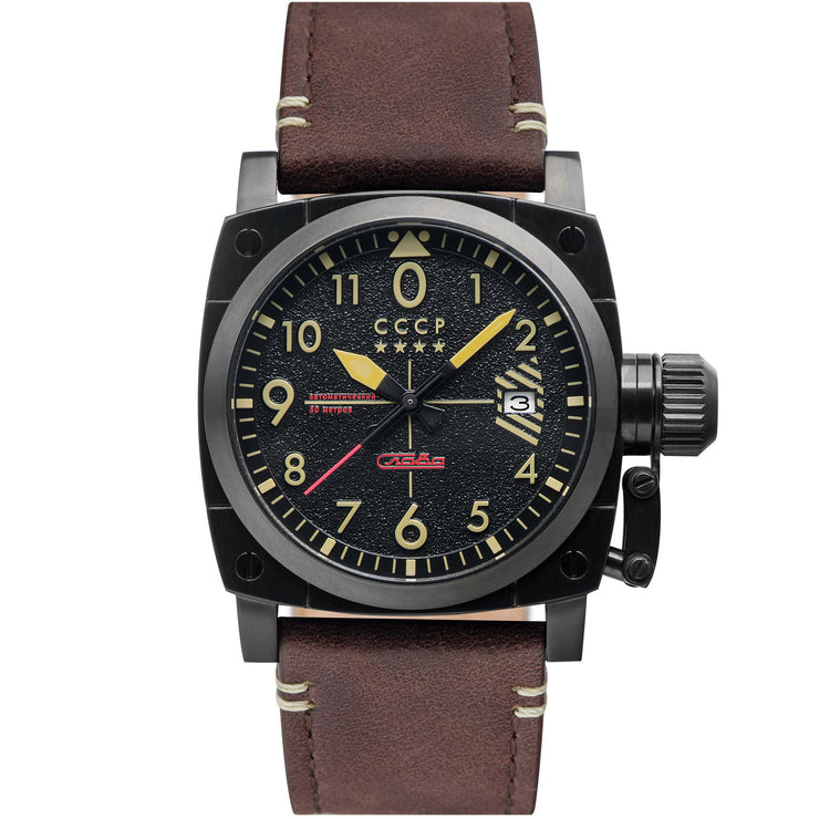 CCCP Gurevich Automatic Black Brown