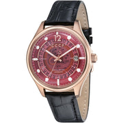 CCCP Sputnik-2 Automatic Rose Gold Black Red