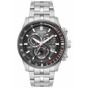 Citizen Eco-Drive PCAT Steel Silver Black