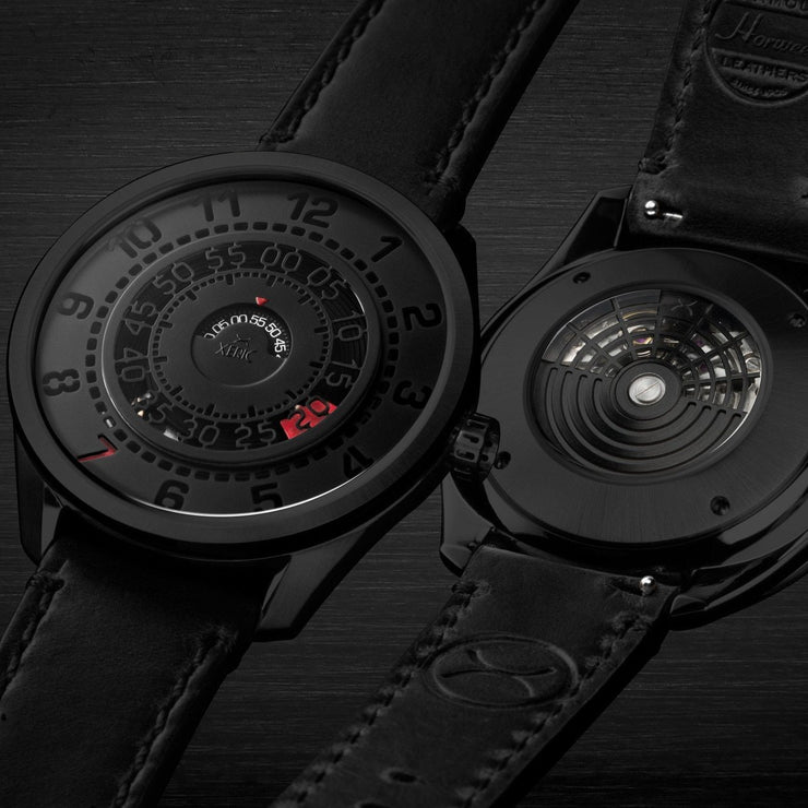 Xeric Cypher Automatic Tritium Black Red Limited Edition