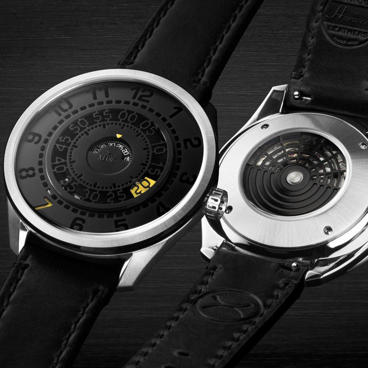 Xeric Cypher Automatic Tritium Black Yellow Limited Edition