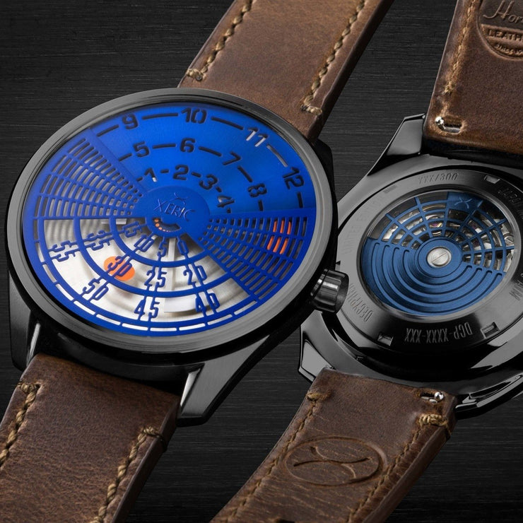 Xeric Decypher Automatic Blue Orange Limited Edition