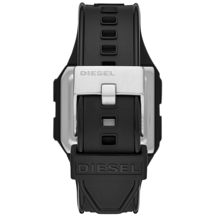 Diesel DZ1918 Chopped Digital All Black angled shot picture