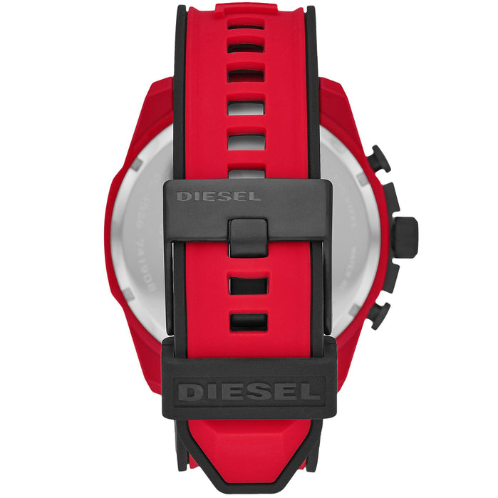 Diesel DZ4526 Mega Chief Chronograph Red Black angled shot picture