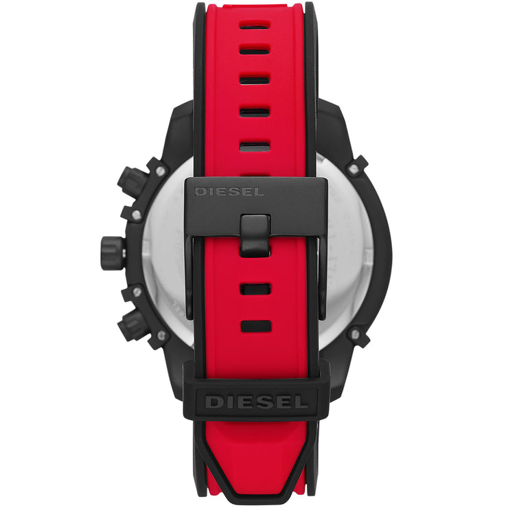 Diesel DZ4530 Griffed Chronograph Red Black