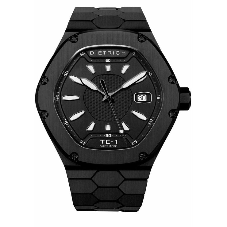Dietrich Time Companion Automatic PVD All Black