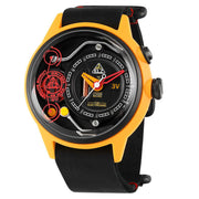 The Electricianz Ammeter Yellow Black