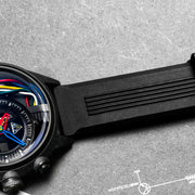 The Electricianz Carbon Z Black Rubber