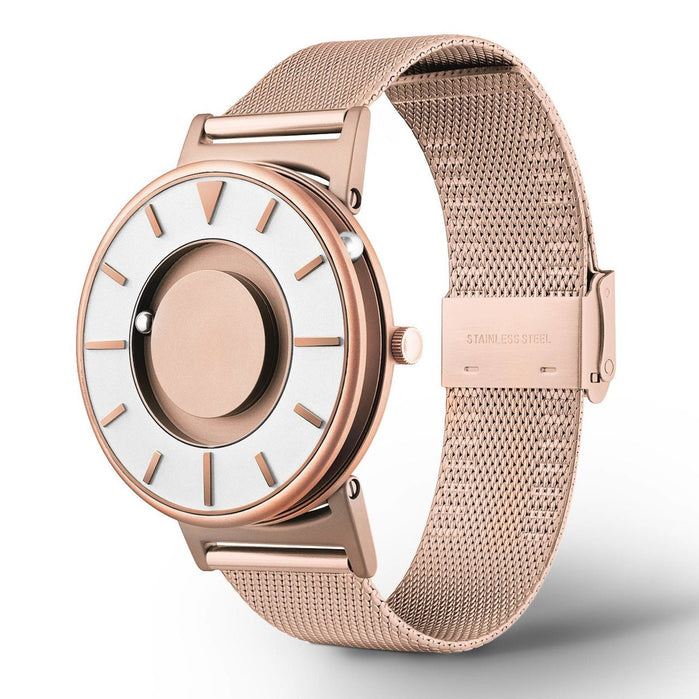 Eone Bradley Classic Rose Gold Mesh angled shot picture