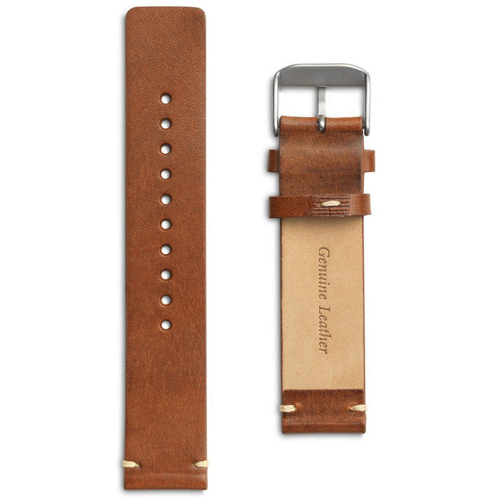 Eone Bradley Chestnut Brown Leather Strap angled shot picture