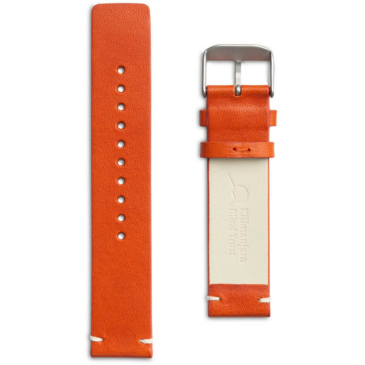 Eone Bradley KBT Orange Leather Strap
