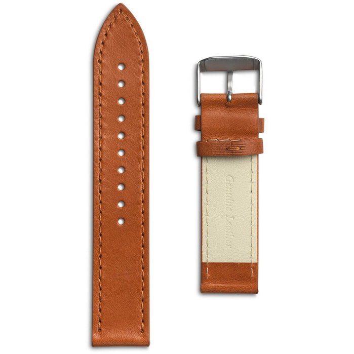 Eone Bradley Cognac Brown Leather Strap angled shot picture