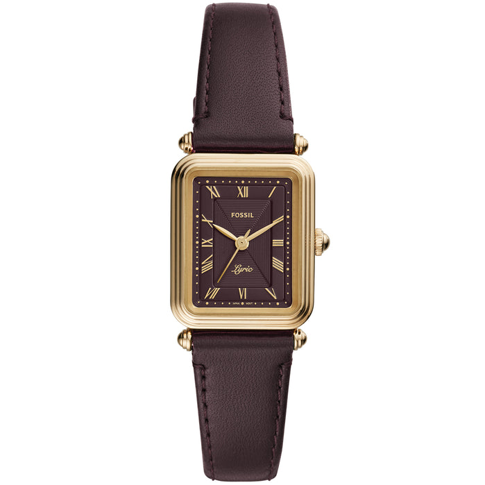 Fossil ES4971 Lyric Gold Brown angled shot picture