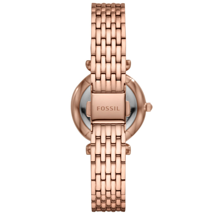 Fossil ES4691 Carlie Mini Rose Gold angled shot picture