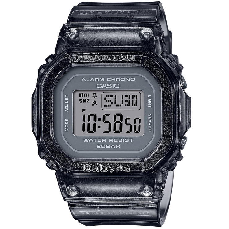 G-Shock Baby-G BGD560S Semi-Transparent Black