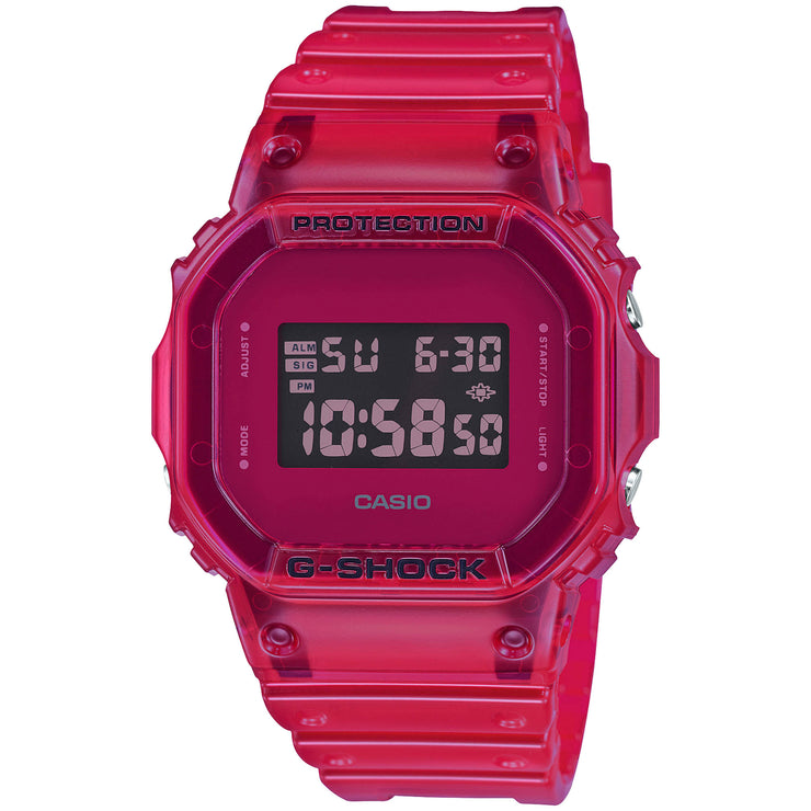 G-Shock DW5600SB Skeleton Digital Red