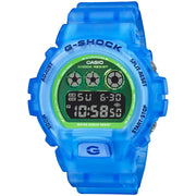 G-Shock DW6900 Color Skeleton Blue