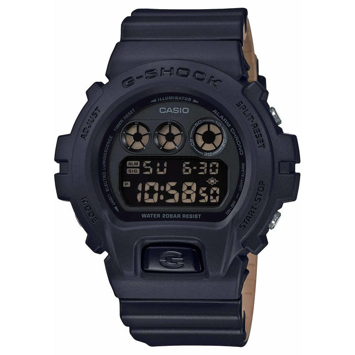G-Shock DW6900LU Black Khaki angled shot picture