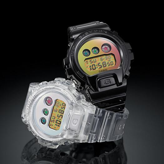 G-Shock DW6900SP-7 25th Anniversary Limited Edition Clear angled shot picture