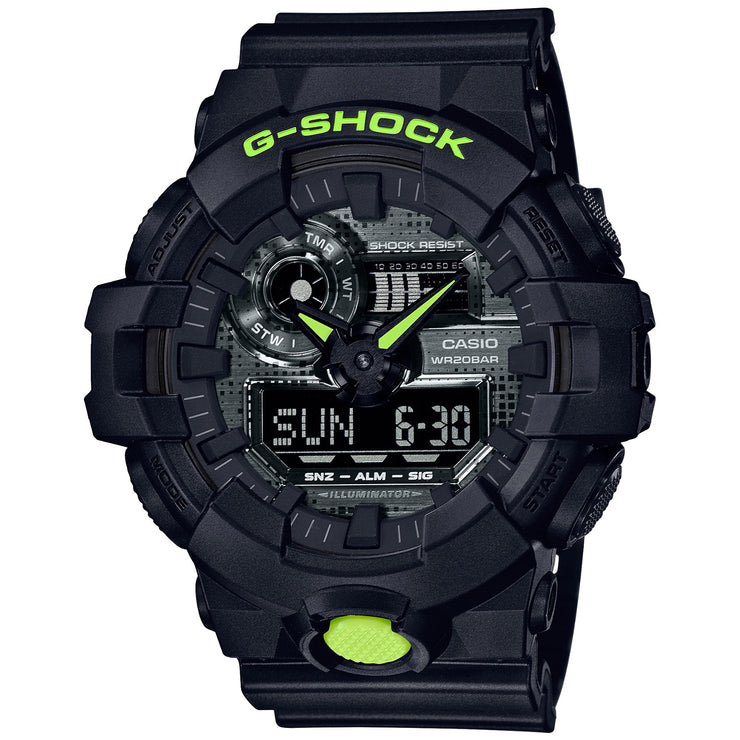 G-Shock GA700 Ana-Digi Digital Camo Black