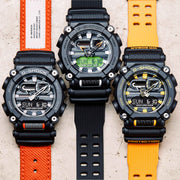 G-Shock GA900 Black Orange
