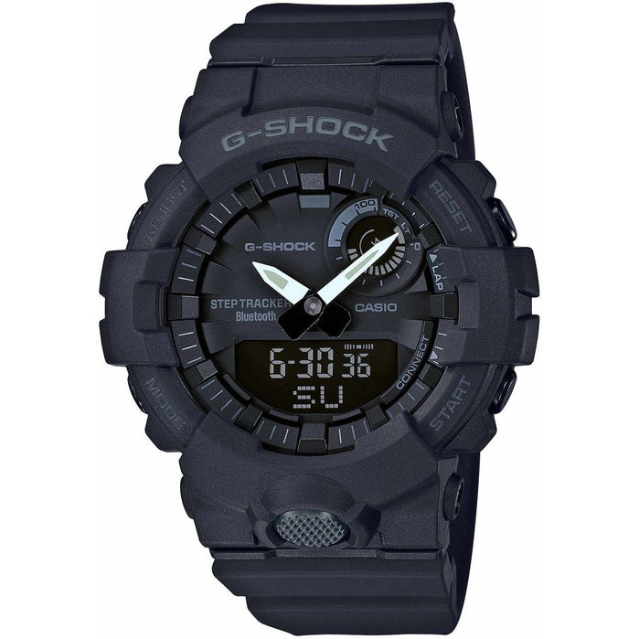 G-Shock GBA800 Bluetooth Step Tracker Training Timer Black angled shot picture