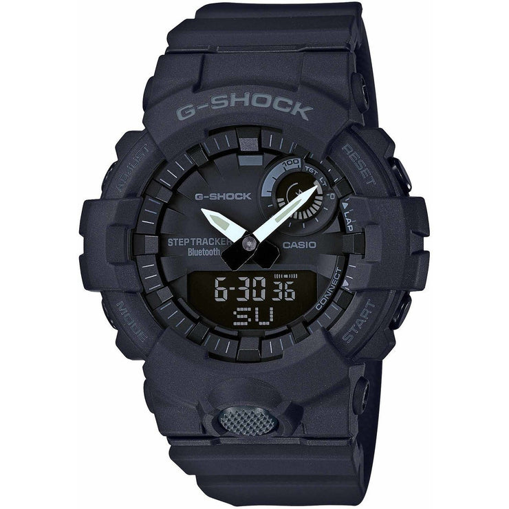 G-Shock GBA800 Bluetooth Step Tracker Training Timer Black