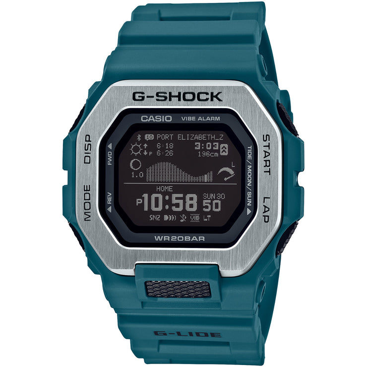 G-Shock G-Lide Tidal Connected GBX100-2 Teal Silver