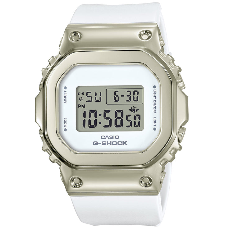 G-Shock GM-S5600 Full Metal Gold White