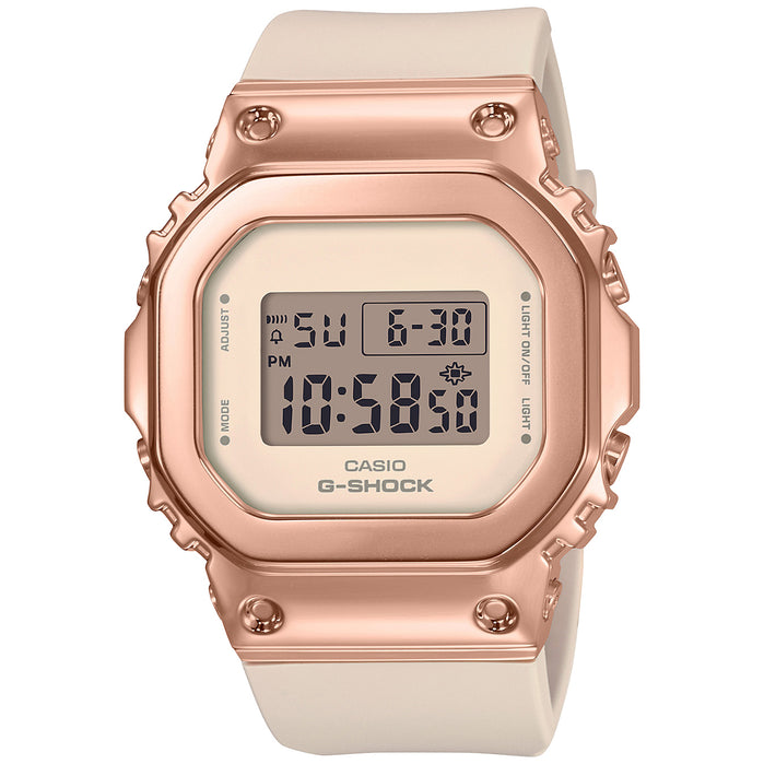 G-Shock GM-S5600 Full Metal Rose Gold Pink angled shot picture