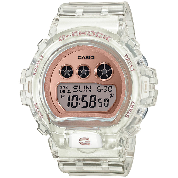 G-Shock GMDS6900SR-7 Transparent Rose Gold angled shot picture