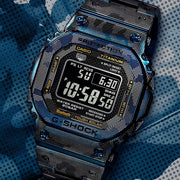 G-Shock GMWB5000TCF-2 Titanium Full Metal Blue Limited Edition