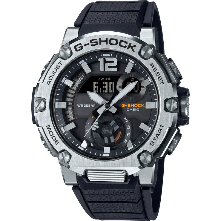 G-Shock GSTB300S-1A G-Steel Connected Silver Black