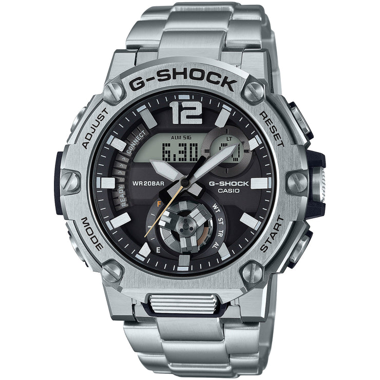 G-Shock GSTB300SD-1A G-Steel Connected Silver