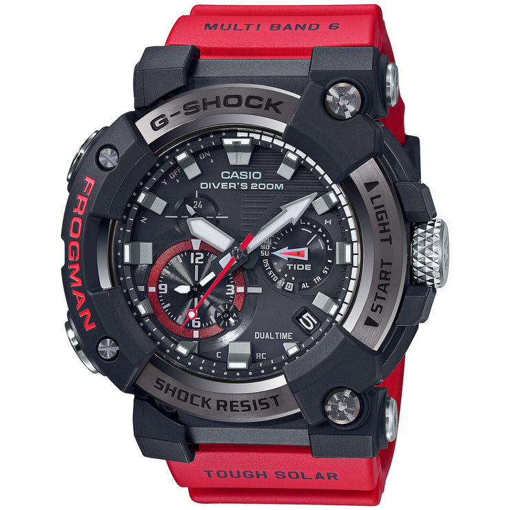 G-Shock Master-G Frogman Connected GWFA1000-1A4 Tide Solar Red