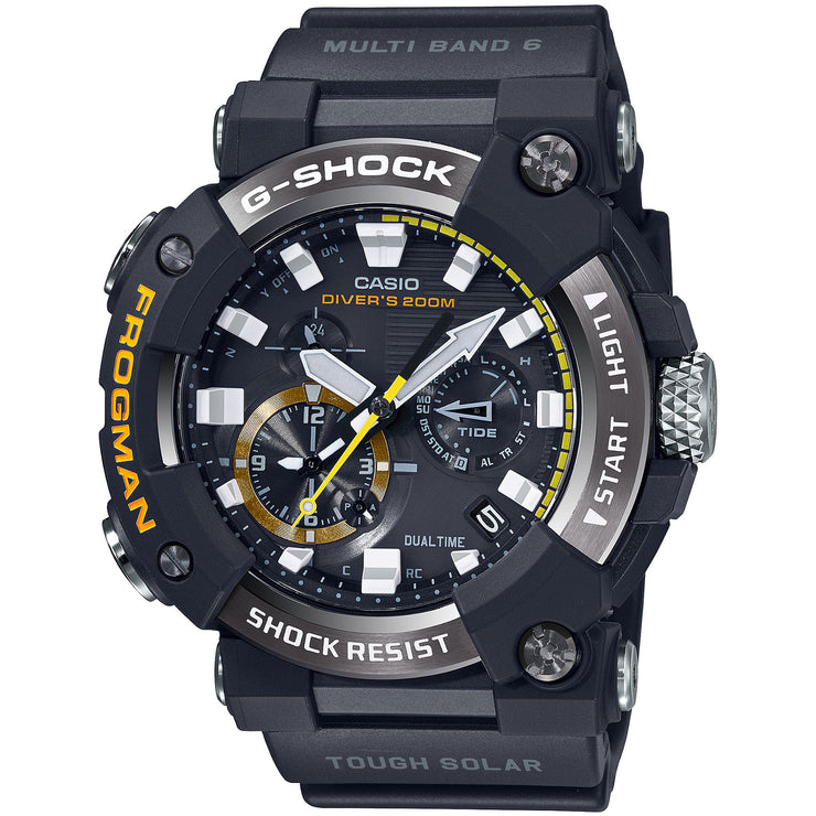 G-Shock Master-G Frogman Connected GWFA1000-1A Tide Solar Black