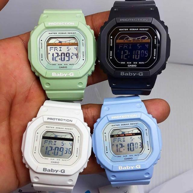 G-Shock BLX560 Baby-G Retro Surf White angled shot picture