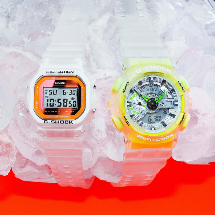 G-Shock GA110 Color Skeleton Transparent angled shot picture