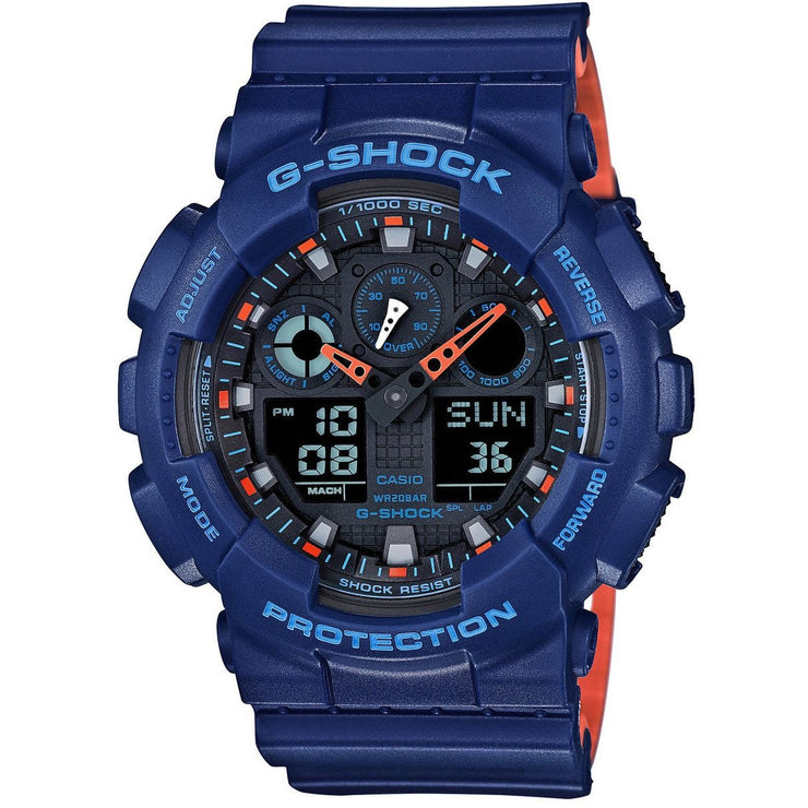 G-Shock GA-100 Military Series Navy