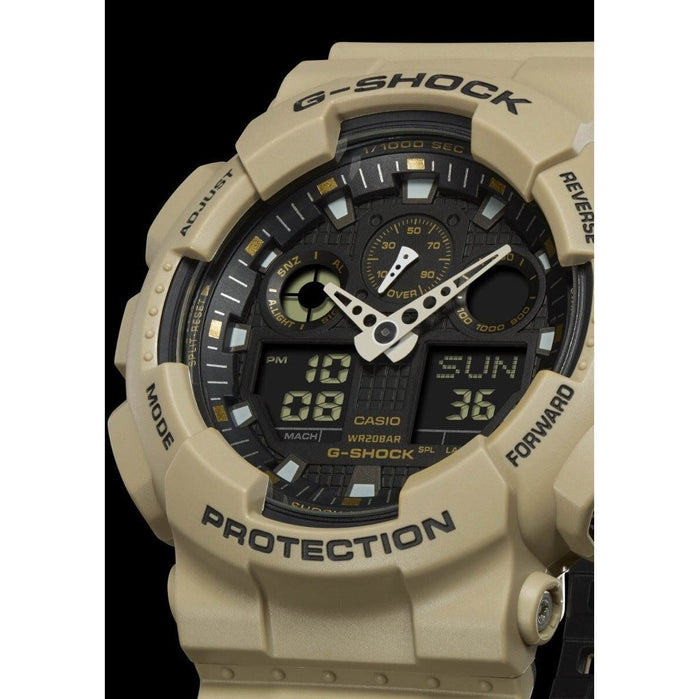 G-Shock GA-100 Military Series Sand angled shot picture
