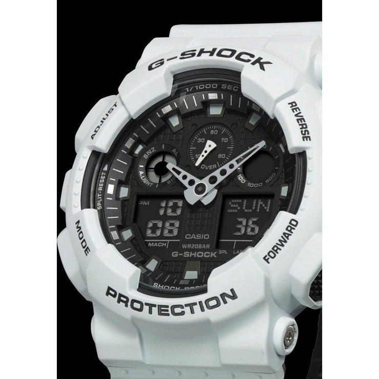 G-Shock GA-100 Military Series White