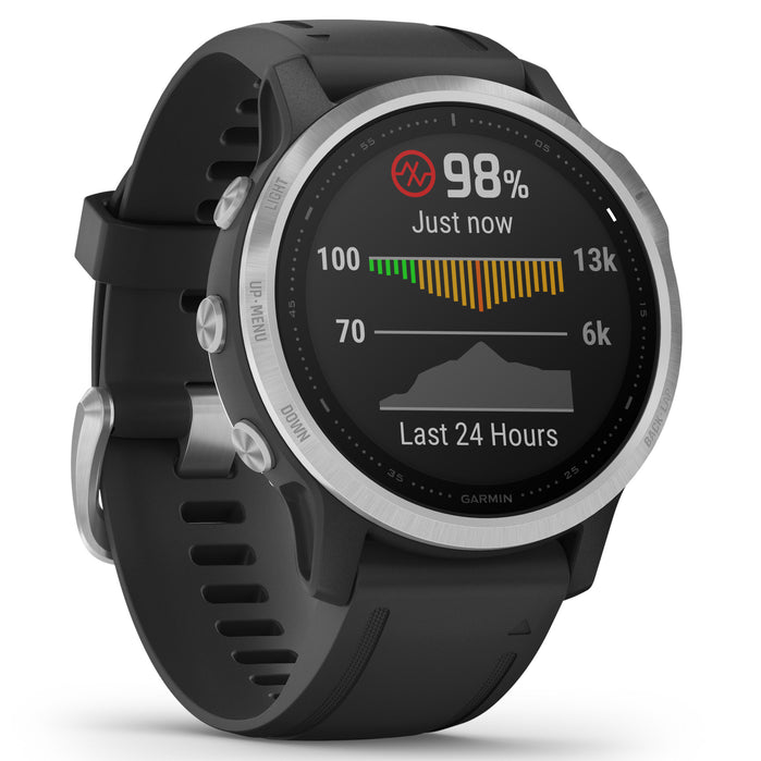 Garmin GPS Smartwatch fenix 6S Black angled shot picture